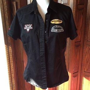 Harley Davidson Blouse women's Medium